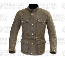 Men's Atlow Wax Riding Jacket Olive (Brown)